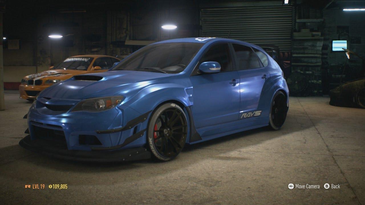 Need For Speed 2015 Subaru Wrx Sti Widebody