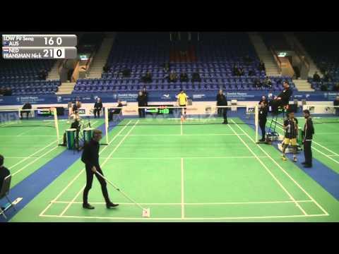 Badminton - Low Pit Seng vs Nick Fransman (MS, Qualifier) - Swedish Masters 2016