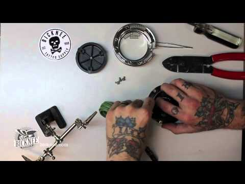 bicknee tattoo supply tattoo machine clip cords and foot switches youtube. Black Bedroom Furniture Sets. Home Design Ideas