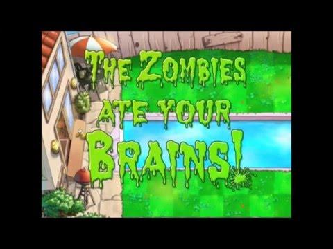 Plants Vs Zombies- Zombie on your lawn Karaoke