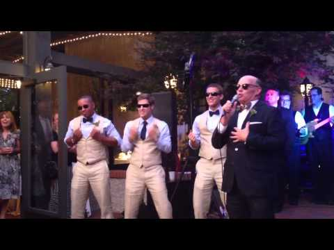 Father of the Bride Sings 'My Girl'