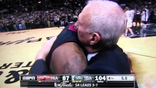 2014 NBA finals Spurs vs Heat last minute