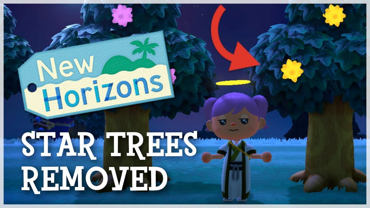 Animal Crossing New Horizons - Star Fragment Trees Removed (Latest Patch)