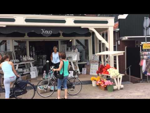 Volendam Fishing Village,amsterdam,netherlands,holland.