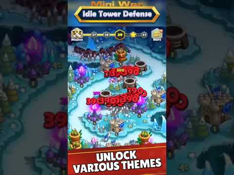 Mini War:Idle Tower Defense