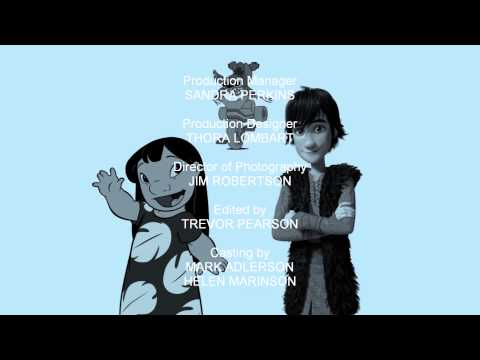 The Sanders/DeBlois Animated Double Feature - End Credits (HD)