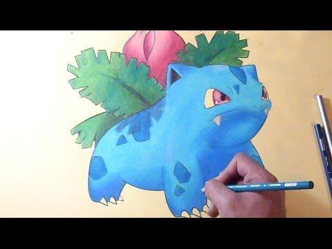 Colorindo Ivysaur Pokemon Youtube