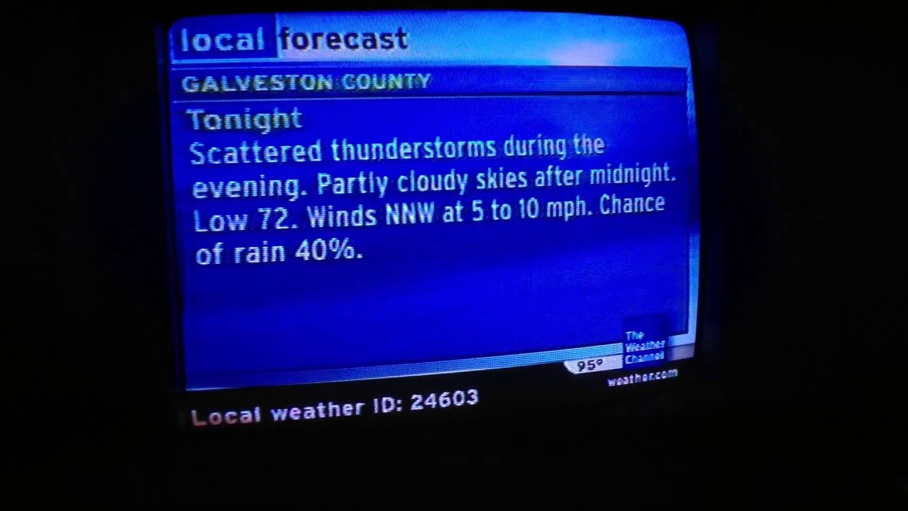 Local Weather Channel Weather Forecast : The weather channel local on s from houston