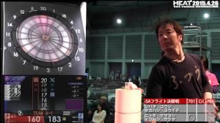 HEAT2015 1st round SENDAI SAフライト 決勝 シバタ コウジ・タカハシ ...