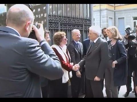 Il Presidente della Repubblica in visita all'ICAM 4 aprile 2017