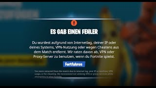 Fortnite Unban | 2019 | NEW | VPN, IP, Internetlag, Cheat or Proxy