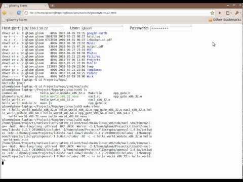 SSH in Chrome