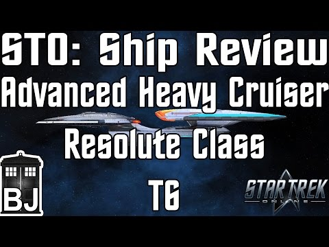 Star Trek Online - Advanced Heavy Cruiser Resolute Class T6 - Review