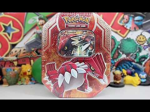 Opening A Groudon EX Tin Legends of Hoenn