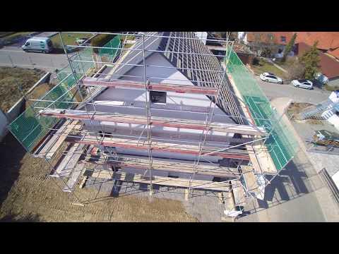 Fertigstellung Rohbau Unseres OKAL Hauses Am 24 03 2018