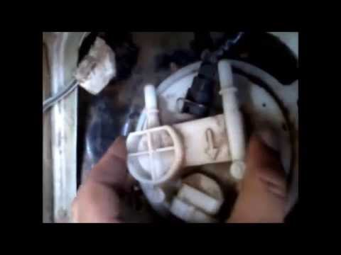 Замена бензонасоса ВАЗ инжектор пример Калина - YouTube