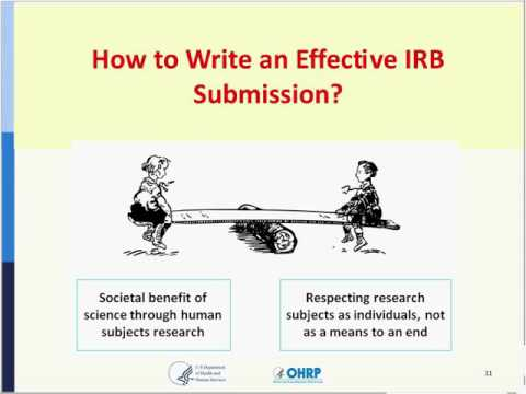 Webinar: What You Should Know About IRB Review of Research