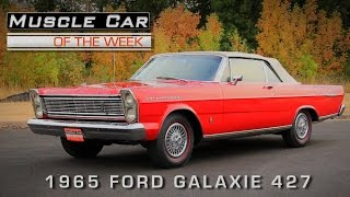 Muscle Car Of The Week Video Episode #142: 1965 Ford Galaxie 427 R-Code