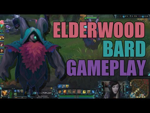League Of Legends! - Elderwood Bard! [Support]: Full Game! W/Ellektrikk! [LIVE COMMENTARY!]