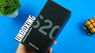 samsung Galaxy S20 ultra UNBOXING   | Tecnocat