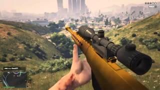My best HEAVY SNIPER KILLS   GTA V   PS4