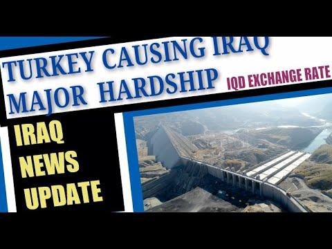 Iraq News Update Water Shortage Entire Iraq USD/IQD Exchange Rate