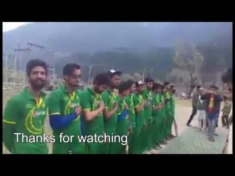 Kashmiri cricket club wears Pakistani jersey, sings Pakistani national anthem