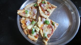 Thin Crust Pizza without Oven  Philisbury Tawa Pizza Base review