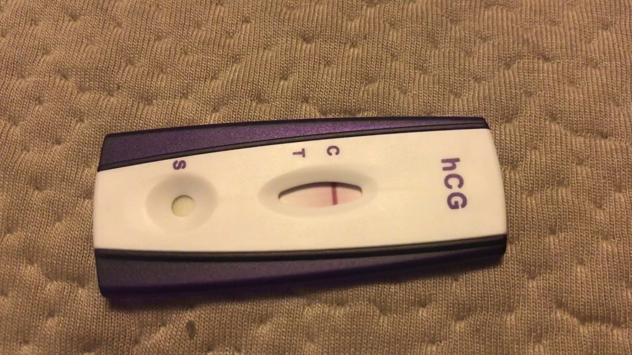 8dpo positive pregnancy test