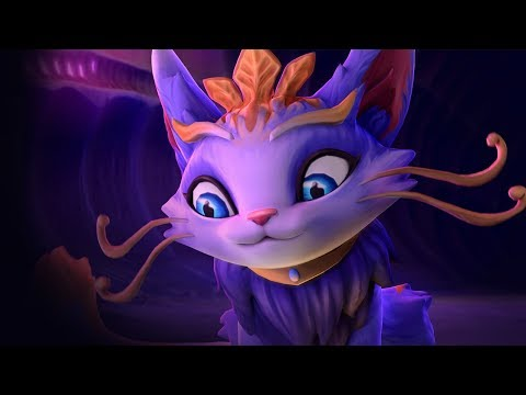 Yuumi, la gatita mágica | Tráiler de campeón - League of Legends