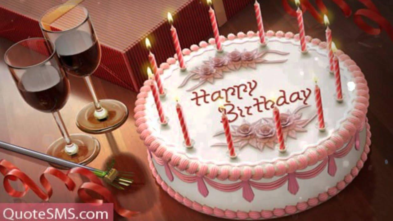 Happy Birthday Cake 4k