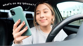 WHAT'S IN MY... everything? (iphone, purse, & car)