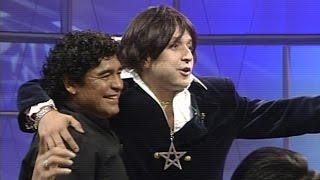 Peter Veneno y Maradona