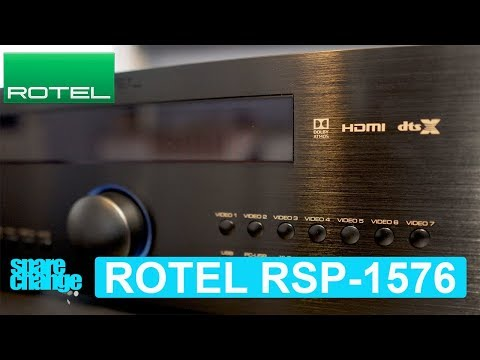Home Theater Upgrade! ROTEL RSP-1576 Dolby Atmos DTS-X Processor | Unboxing & Overview