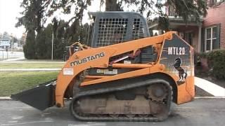 Mustang MTL20 Track Loader on EBay For Sale