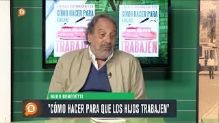 """Hugo Benedetti presenta su libro """"Cómo hacer para que los hijos trabajen"""""""