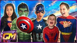 Super Hero Pranks - Marvel Vs DC
