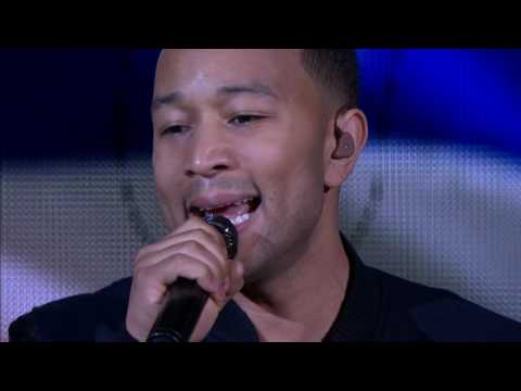 John Legend Sings the National Anthem for NBA Finals 2016!