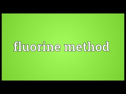 Fluorine dating definition dictionary
