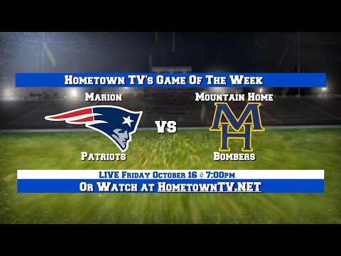Marion Patriots vs. Mountain Home Bombers - October 16, 2015