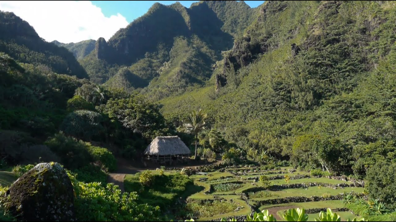 Limahuli Garden And Preserve Entering The Ahupua A Youtube