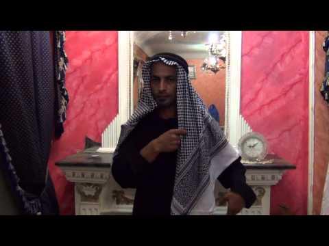 Anleitung für Araber Kopfbedeckung - Scheich Kostüm im Saudi-Style bei Egyptbazar Online Shop