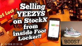 Yeezy 350 V2 - Selling YEEZYS on StockX from inside Foot Locker ! 124757605