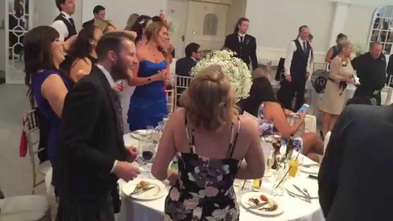 Secret Opera Singers At Becky Gio S Wedding Youtube