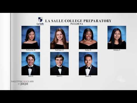 Saluting the Class of 2020 -- La Salle College Preparatory