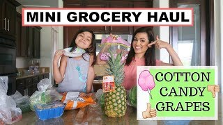 COTTON CANDY GRAPES??? GROCERY HAUL 2018 \\ Style Mom XO