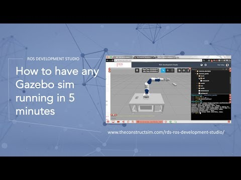 [ROS Q&A] 009 - How to have any Gazebo Simulation running in 5 mins