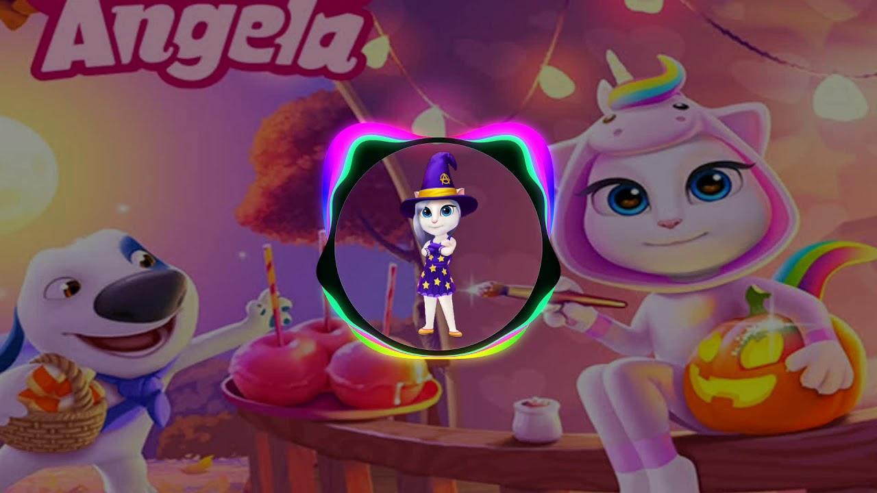 Talking Angela Oficial: Halloween electrónico Músic/ con copyright 🎃