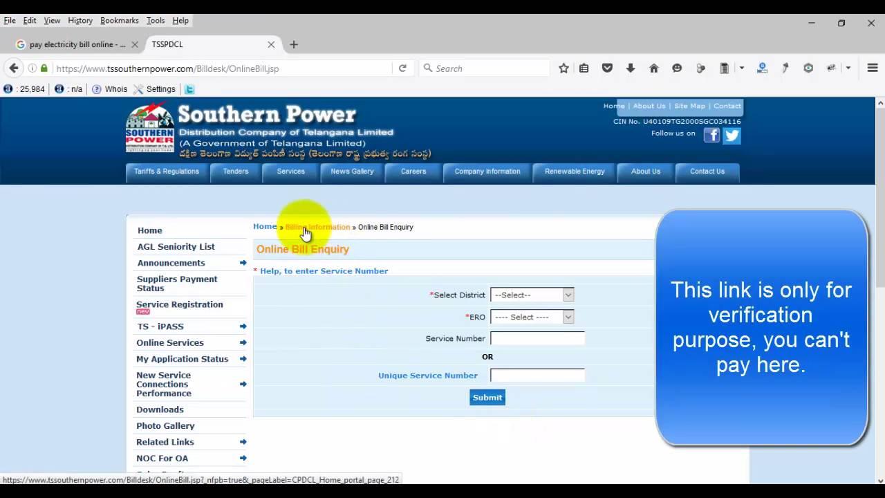 Pay Electricity Bill Online Using Bill Desk