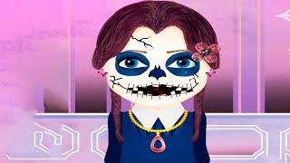 Fun kids games - Funny Halloween party Pumpkin Costume Makeup Makeover Dress Up